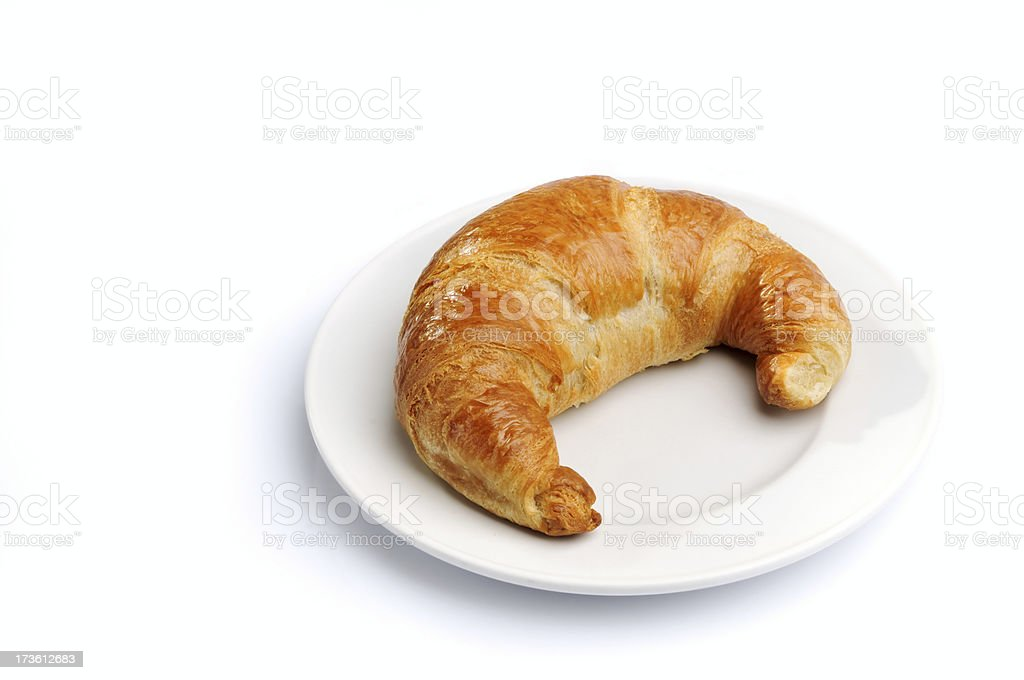 Butter Croissant royalty-free stock photo
