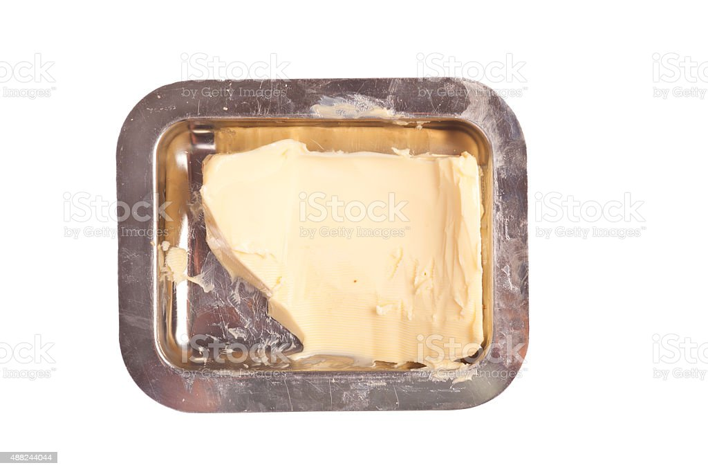 Butter Dish stock photo