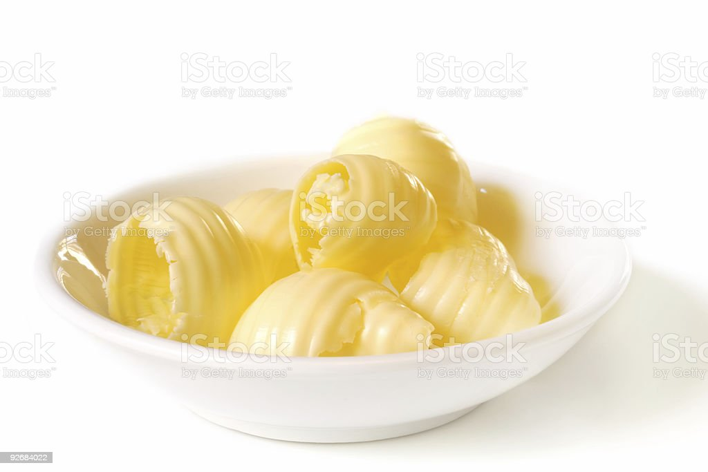 Butter Dish royalty-free stock photo