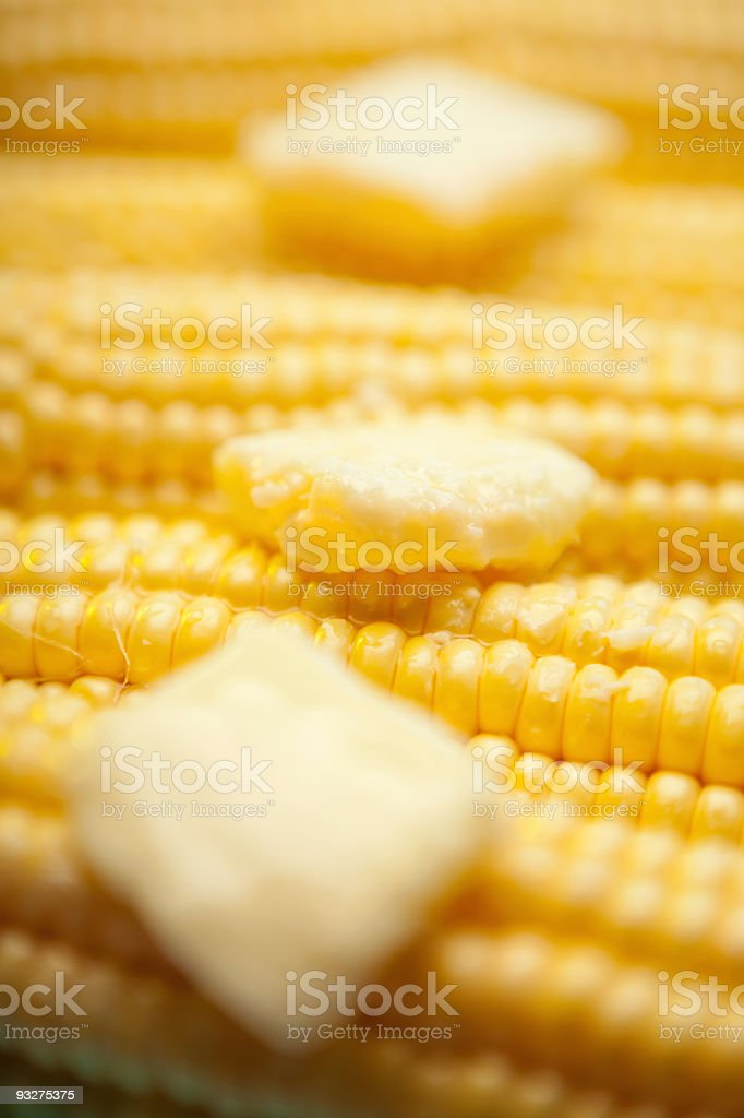 Butter on Corn royalty-free stock photo