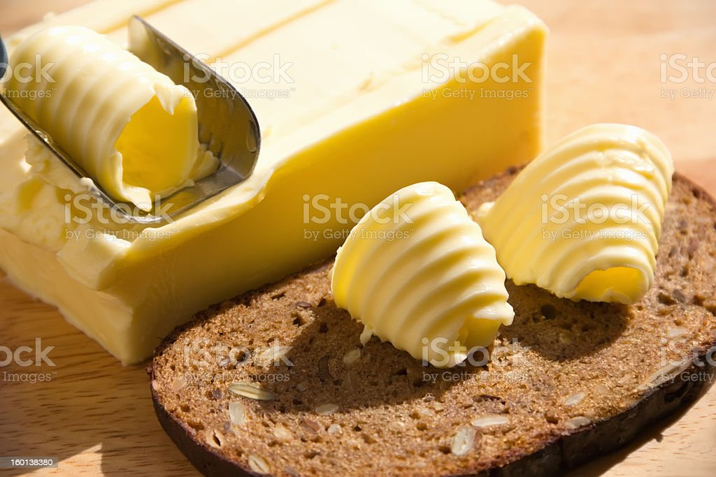 butter royalty-free stock photo