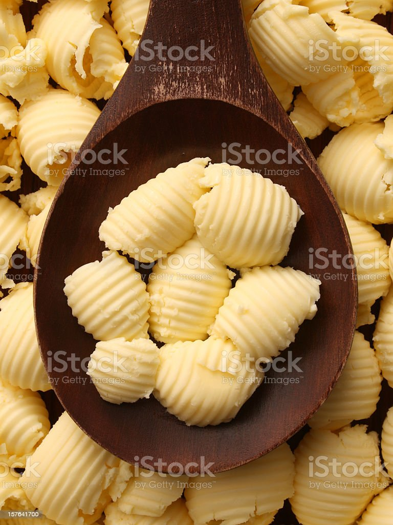 Butter rolls royalty-free stock photo