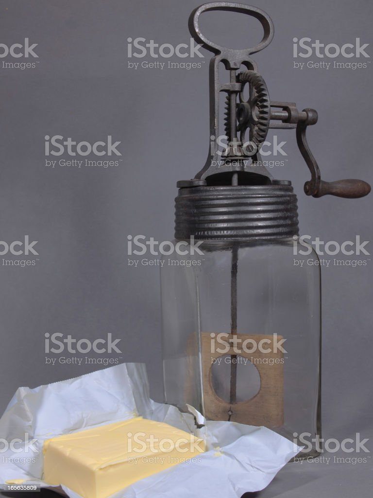 butter sling stock photo