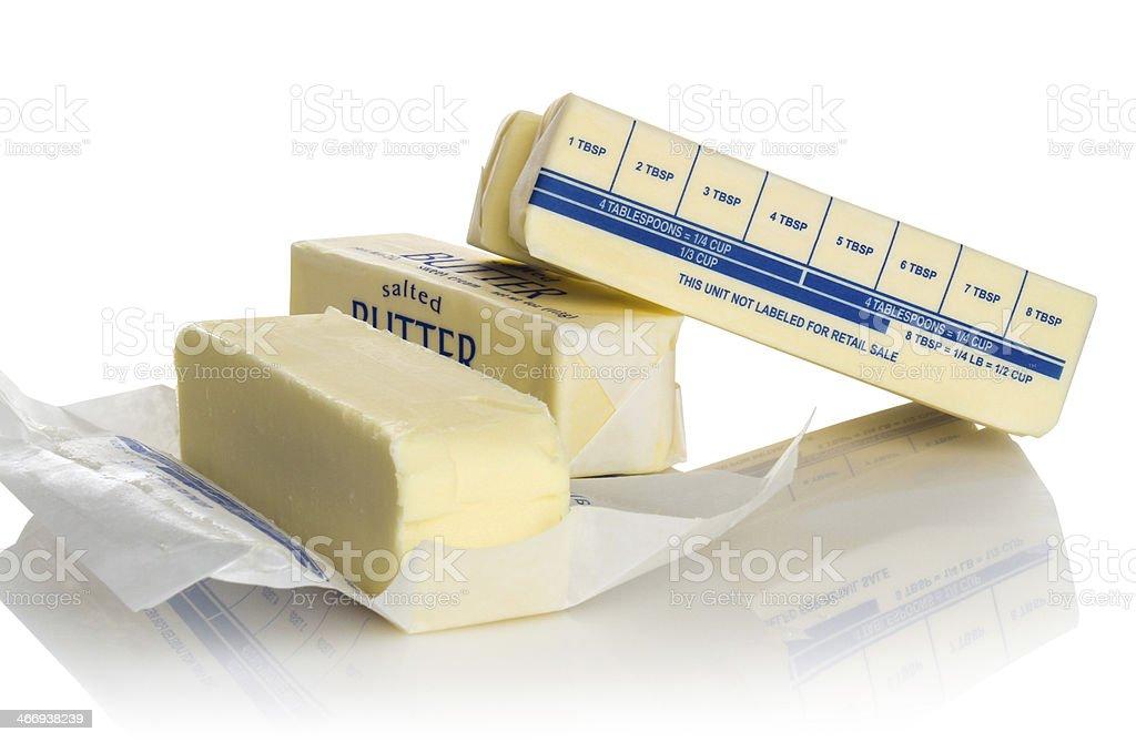 Butter Sticks royalty-free stock photo