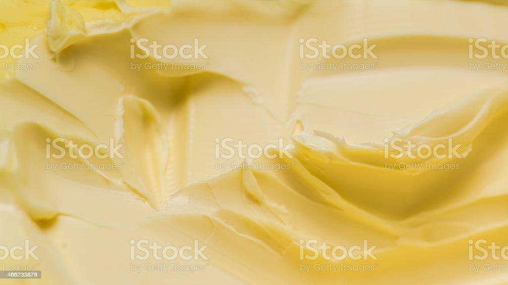Butter texture stock photo
