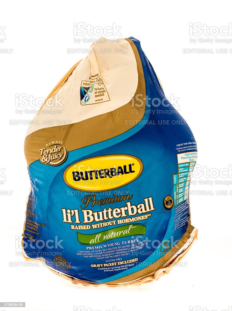 Butterball stock photo