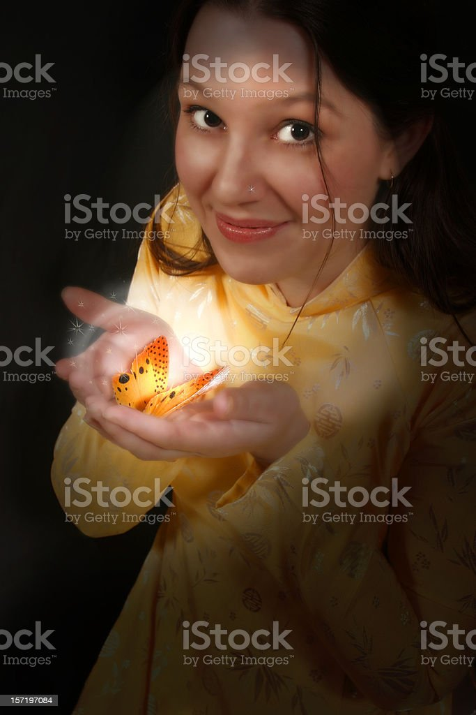 Butterfly Magic stock photo