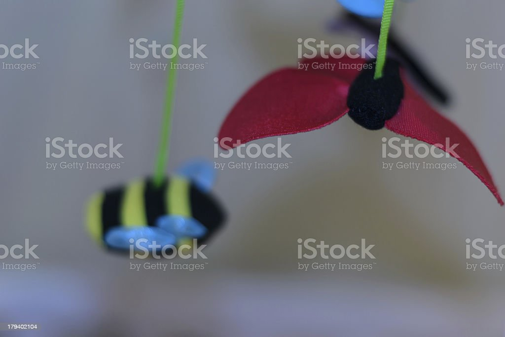 Butterfly toy royalty-free stock photo