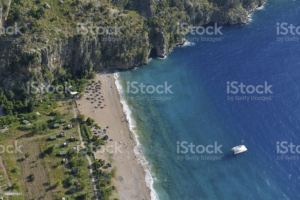 Butterfly Valley stock photo