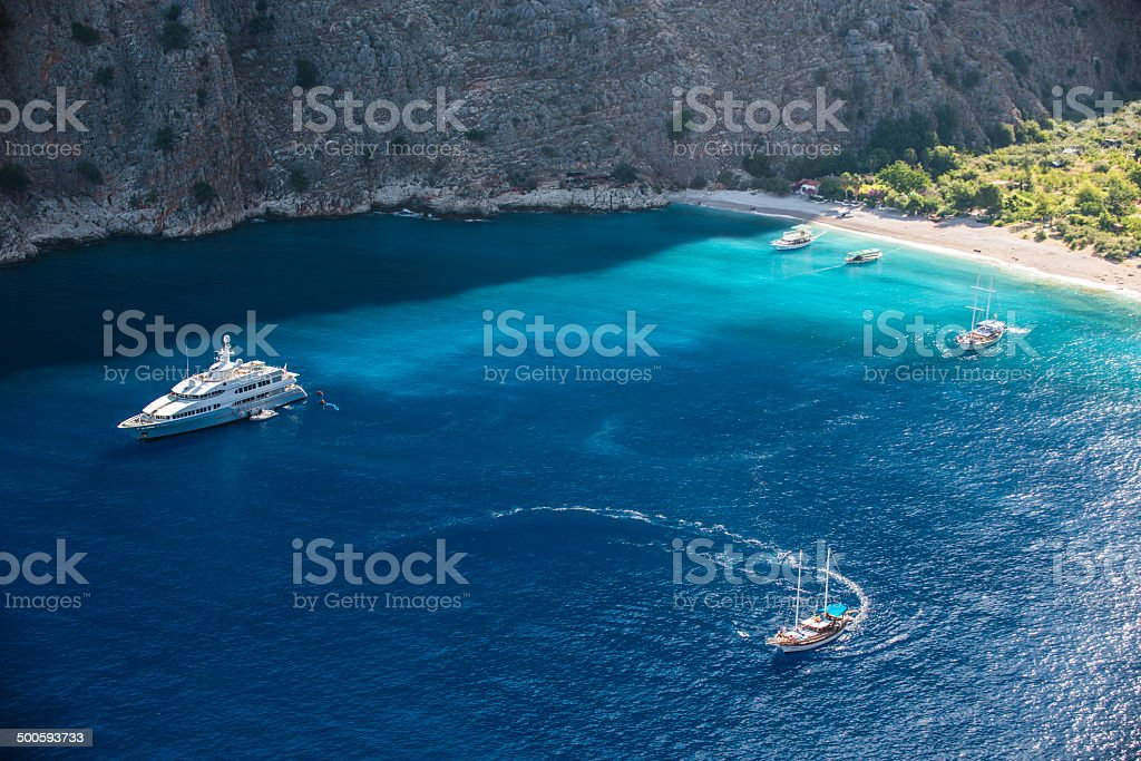 Butterfly Valley royalty-free stock photo
