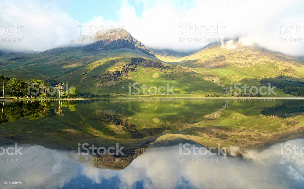 Buttermere In England's Lake District stock photo