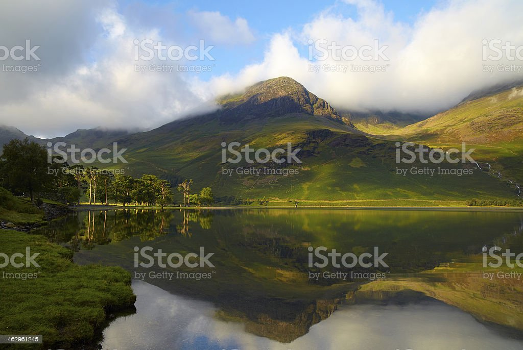 Buttermere In the English Lake District royalty-free stock photo