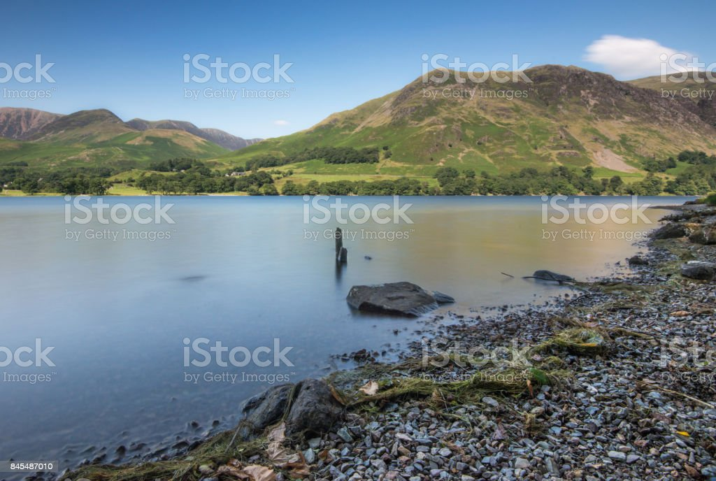 Buttermere, Lake District National Park, Cumbria stock photo