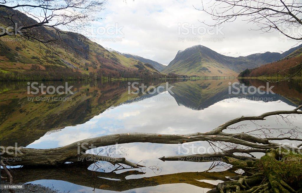 Buttermere Lake, Lake District. stock photo