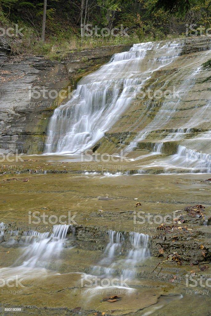 Buttermilk Falls stock photo