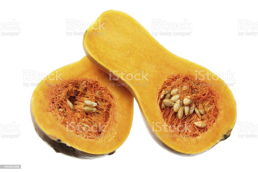 Butternut Pumpkin royalty-free stock photo