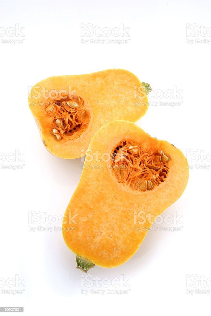 Butternut Squash royalty-free stock photo
