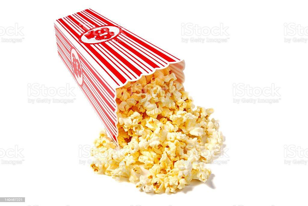 Buttery Popcorn stock photo