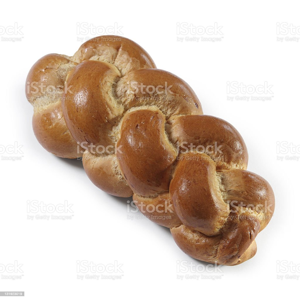 Butterzopf traditional Swiss bread royalty-free stock photo