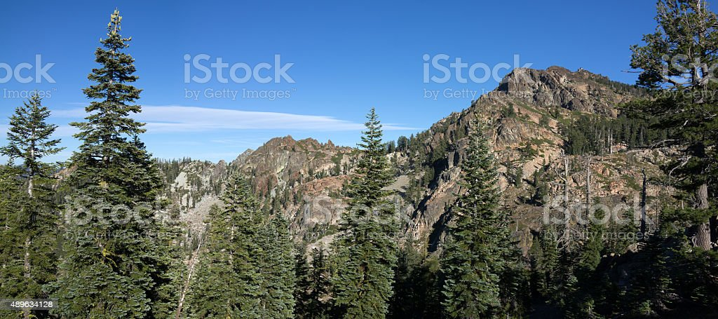 Buttes Summits and Lookout stock photo