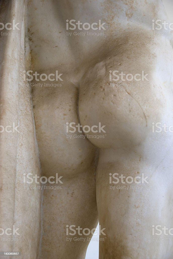 Buttocks royalty-free stock photo