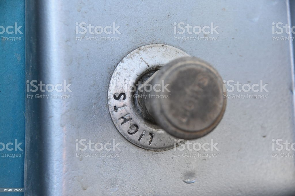 button for light stock photo