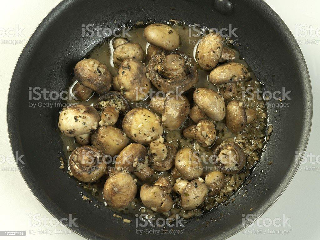 Button Mushrooms royalty-free stock photo