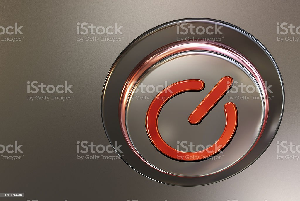 button ON/OFF royalty-free stock photo