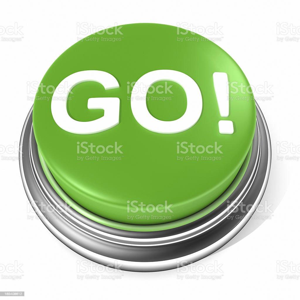 GO button stock photo