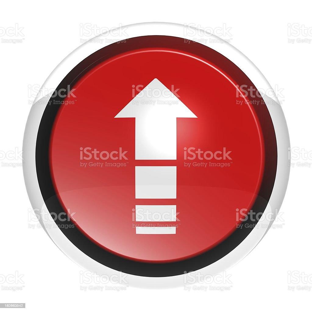 Button serie - Arrow rup stock photo