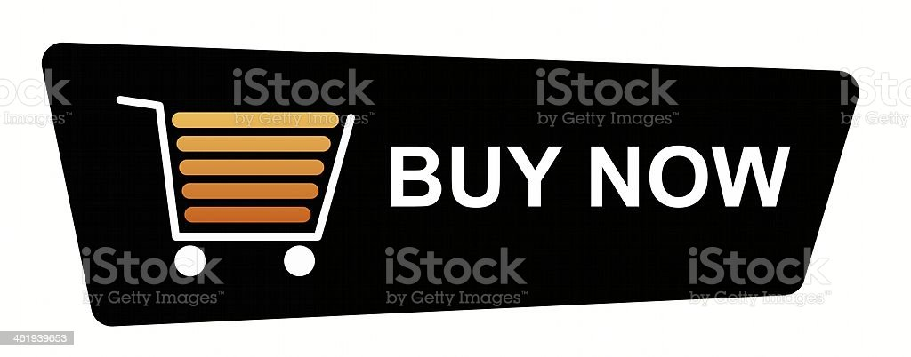 A button template for online shopping stock photo