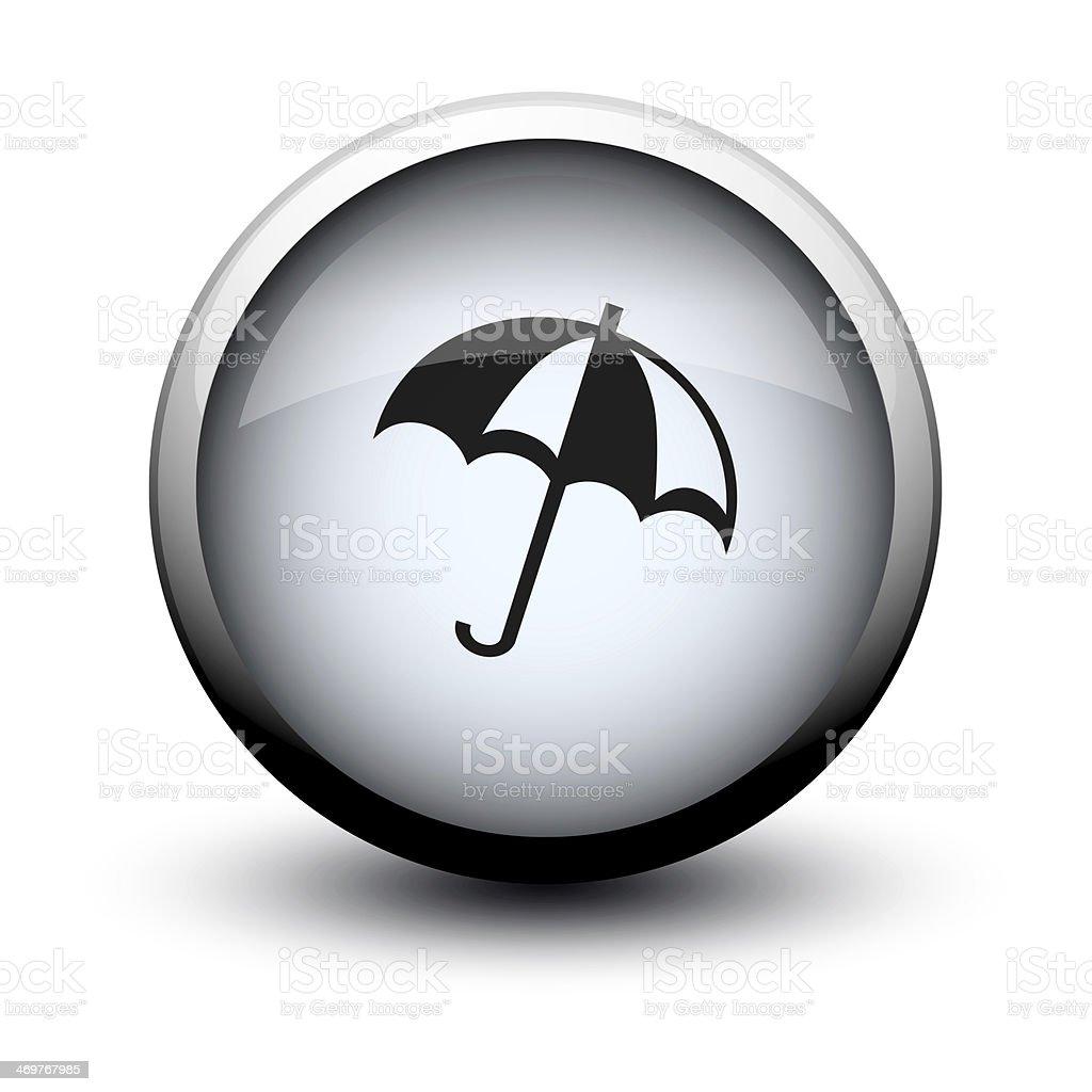 button umbrella 2d stock photo