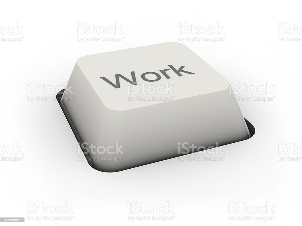 button Work royalty-free stock photo