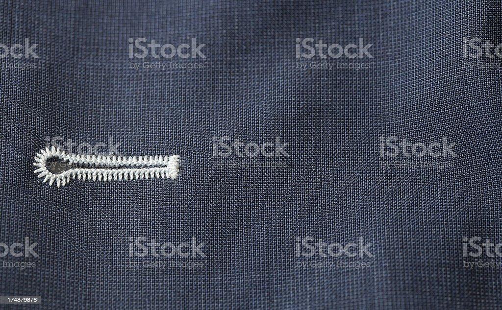buttonhole stock photo