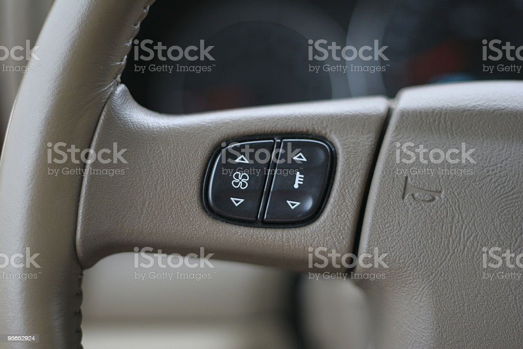 Buttons on the Wheel stock photo
