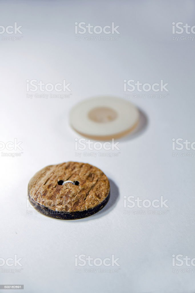 Buttons & Wooden and Plastic puttons royalty-free stock photo