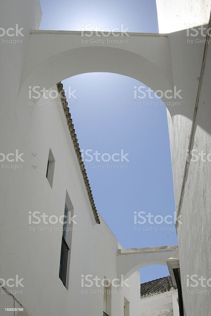 Buttress in Arcos royalty-free stock photo
