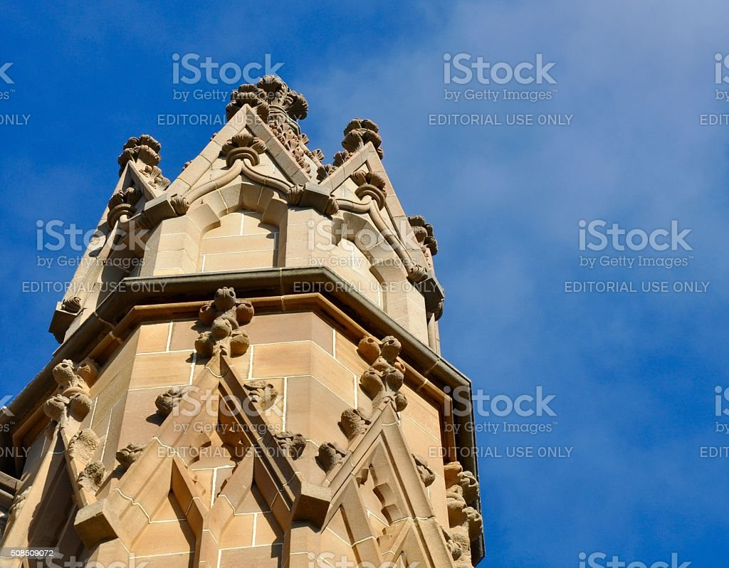 Buttress in the Sky stock photo