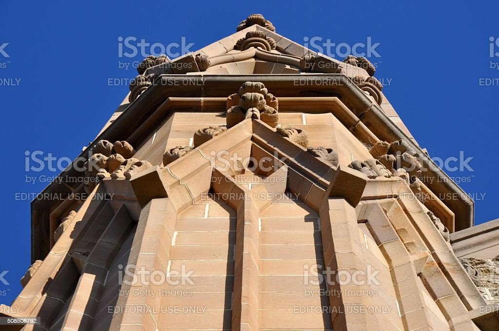 Buttress Perspective stock photo