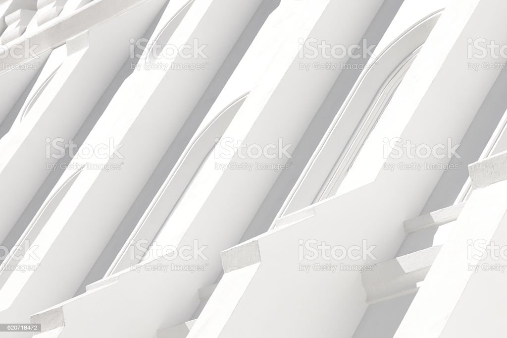 Buttress Pilaster Building Facade Architecture stock photo
