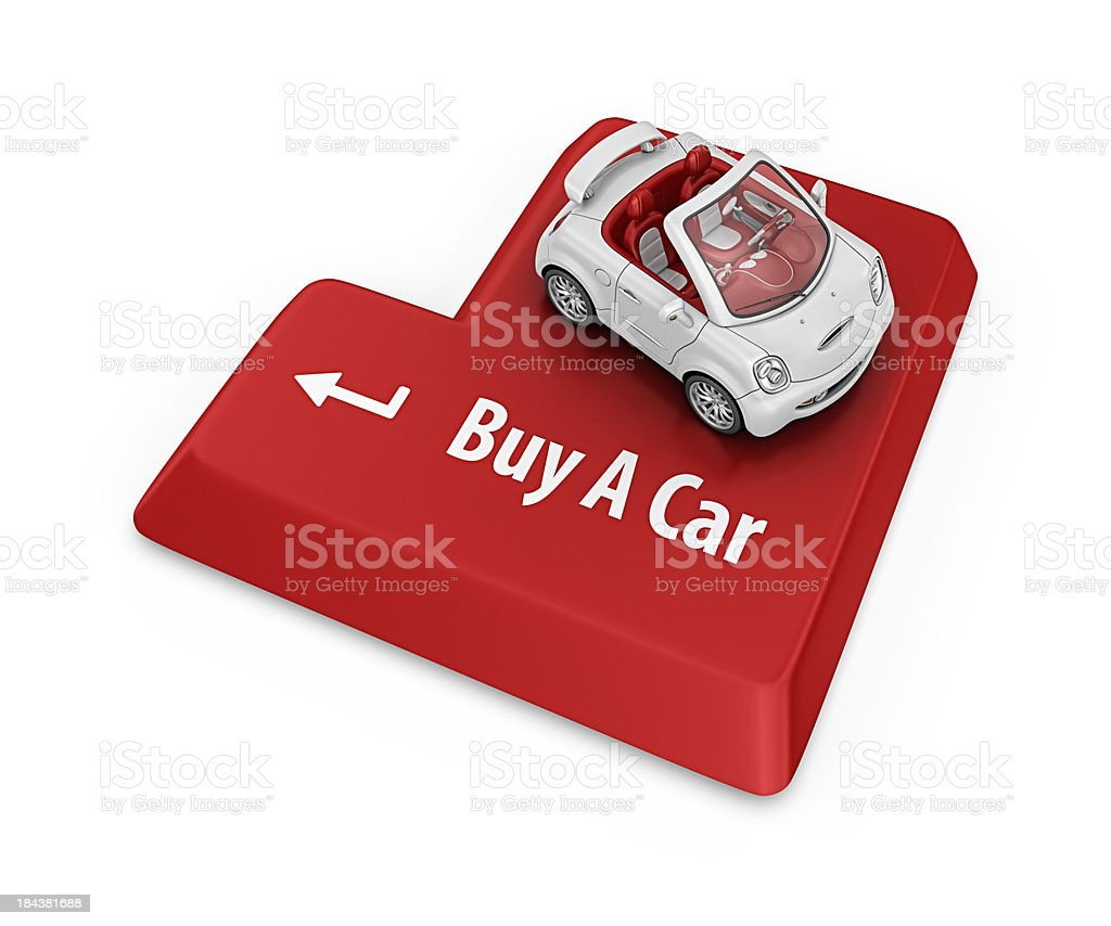 buy a car royalty-free stock photo