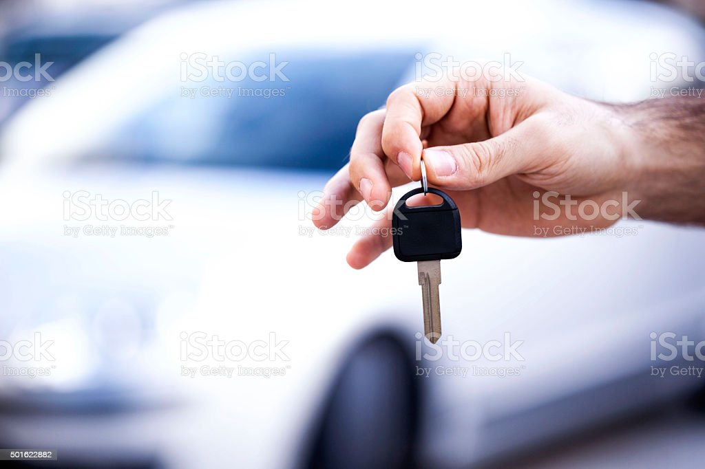 Buy a car stock photo