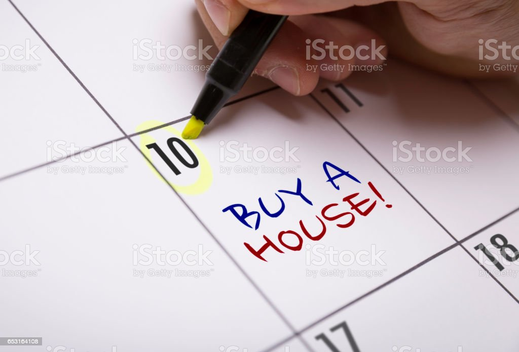 Buy a House stock photo