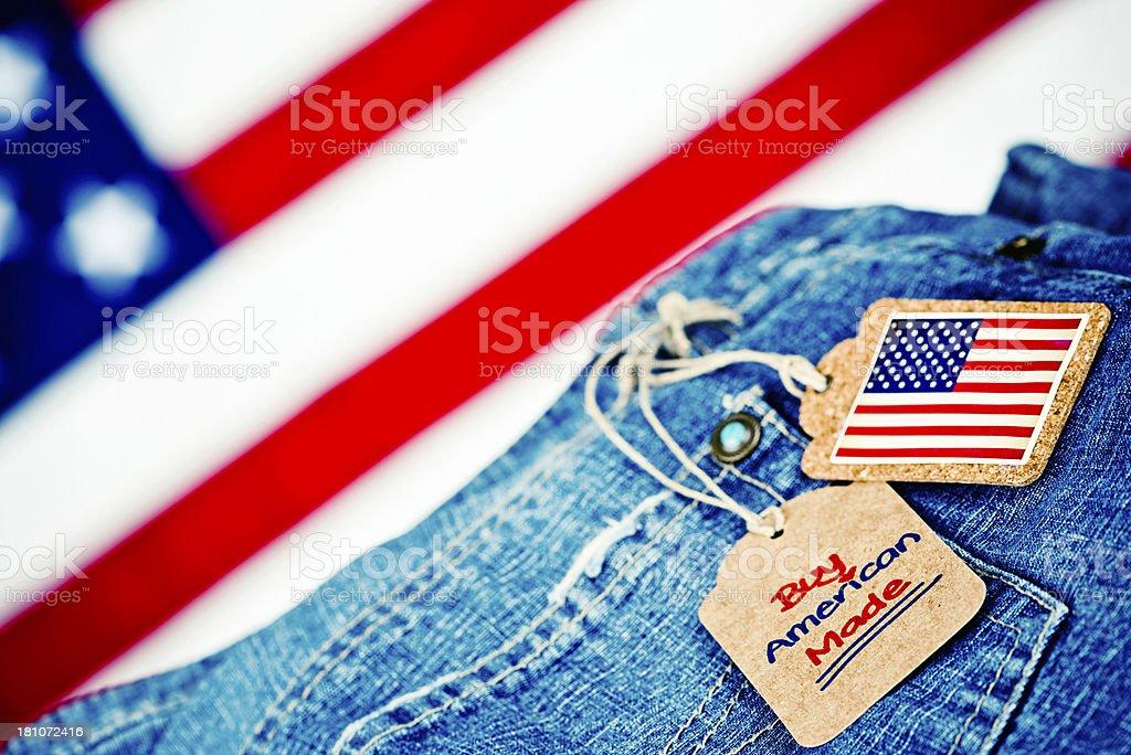 Buy American Made Goods stock photo