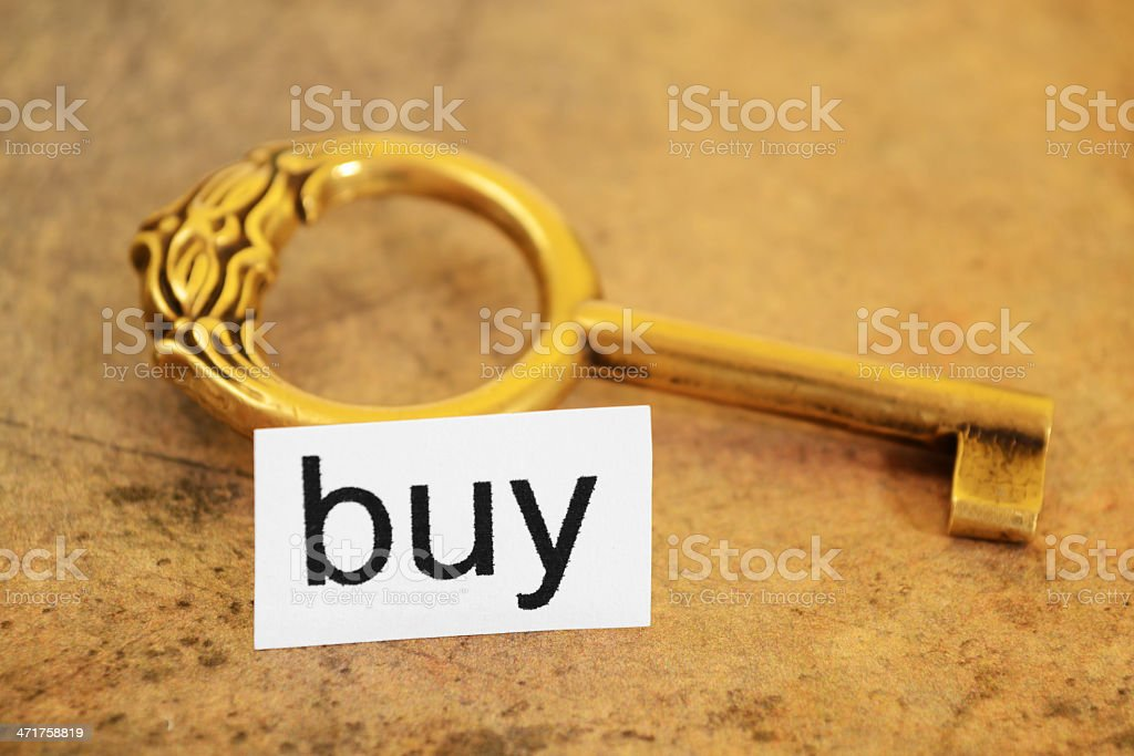 Buy concept royalty-free stock photo