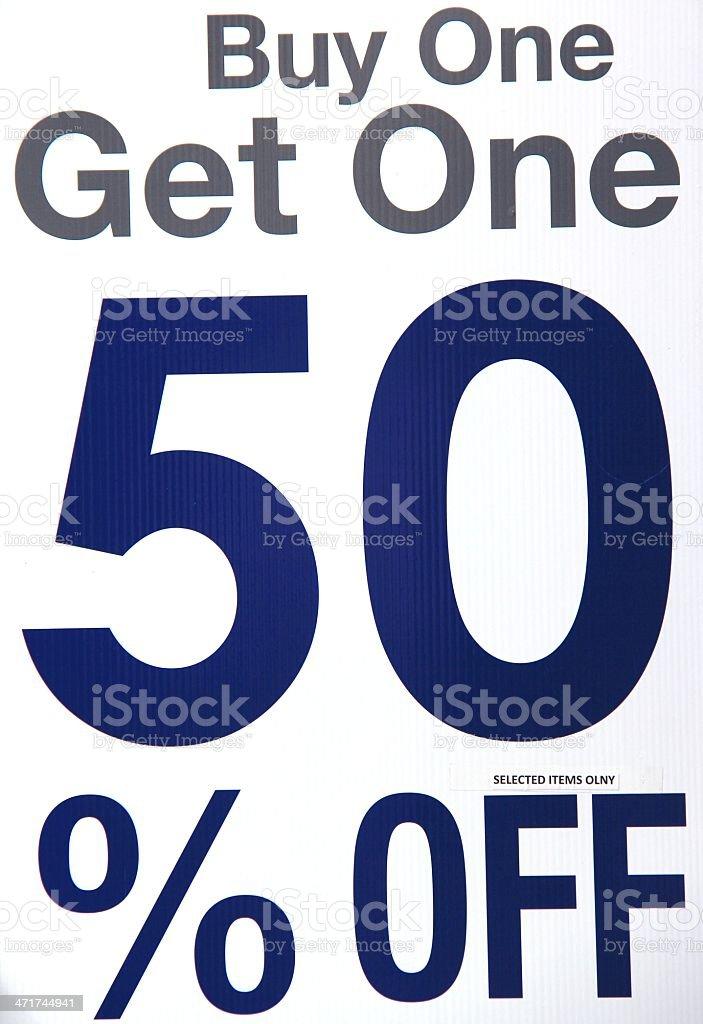 Buy One... stock photo