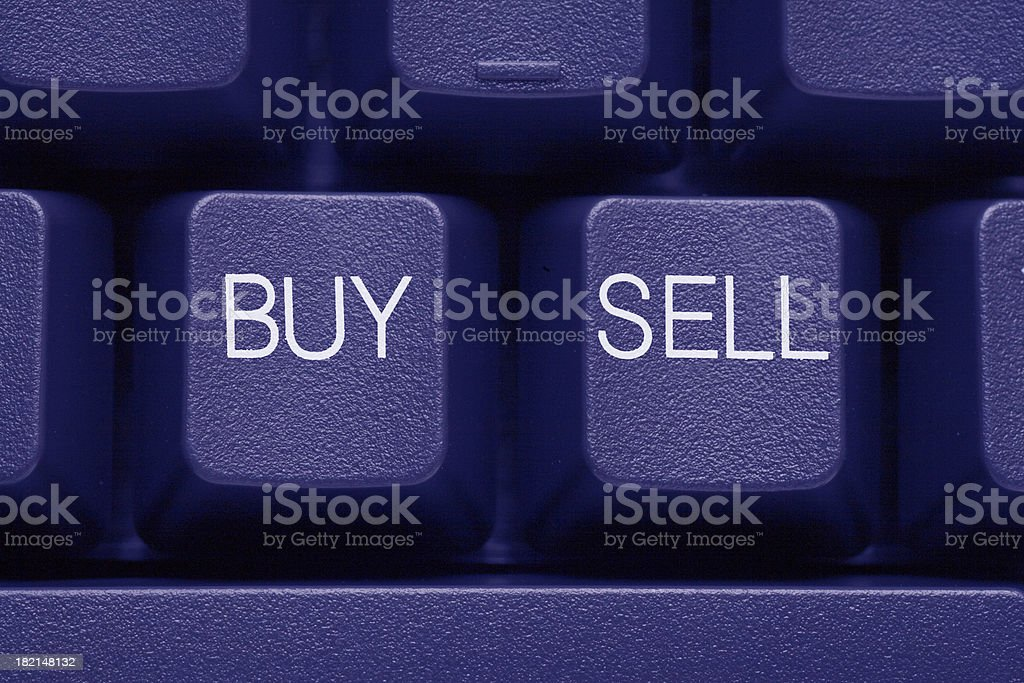 Buy & Sell royalty-free stock photo