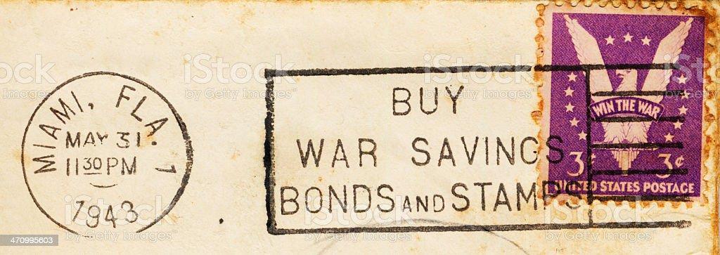 Buy War Bonds stock photo