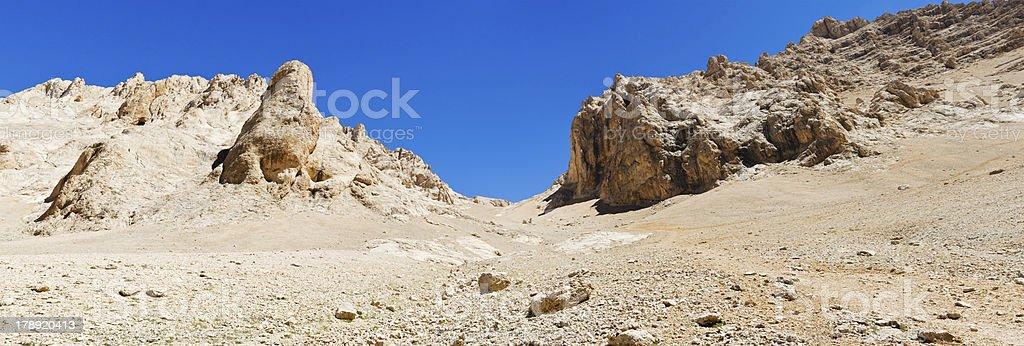 Buyduran pass and Emler summit Aladaglar royalty-free stock photo