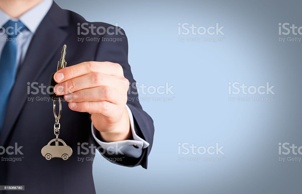 Buying A Car stock photo